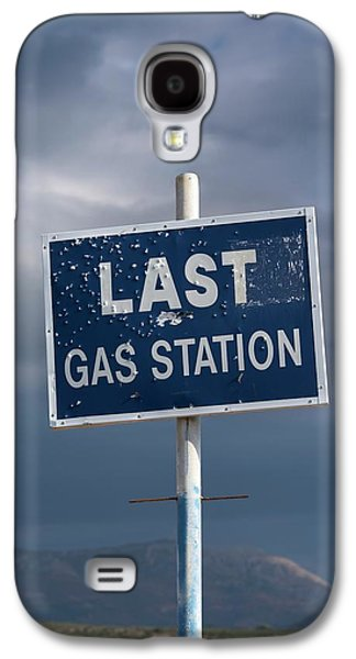 Gas Station Roadsign Galaxy S4 Case by David Parker