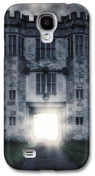Creepy Galaxy S4 Cases - Gate Galaxy S4 Case by Joana Kruse