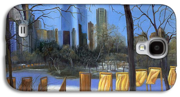 Warner Park Paintings Galaxy S4 Cases - Gates of New York Galaxy S4 Case by Marlene Book