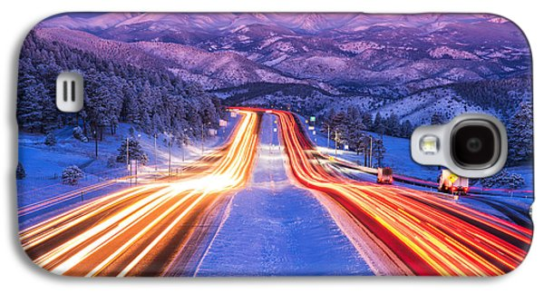 Landscape Acrylic Prints Galaxy S4 Cases - Gateway to the Rockies Galaxy S4 Case by Darren  White