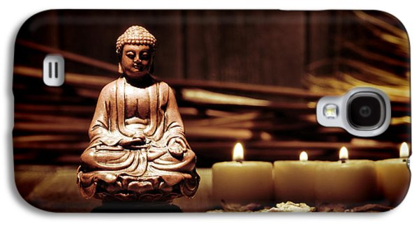 Religious Galaxy S4 Cases - Gautama Buddha Galaxy S4 Case by Olivier Le Queinec