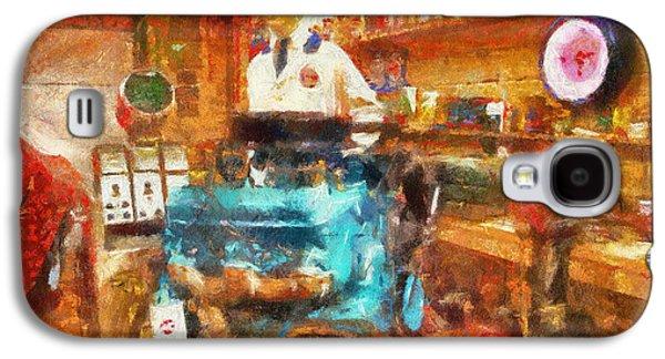 Artist Working Photo Digital Art Galaxy S4 Cases - Gearhead Workshop Photo Art Galaxy S4 Case by Thomas Woolworth