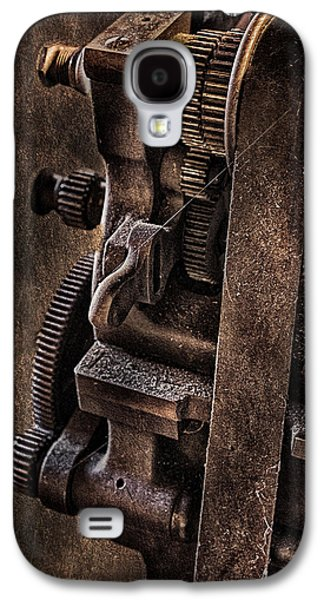 Self-improvement Galaxy S4 Cases - Gears And Pulley Galaxy S4 Case by Susan Candelario