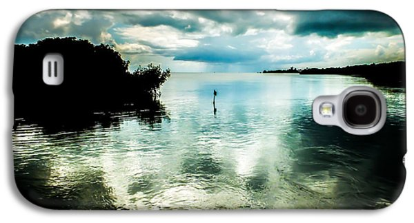 Grey Clouds Photographs Galaxy S4 Cases - Geiger Key Galaxy S4 Case by Karen Wiles
