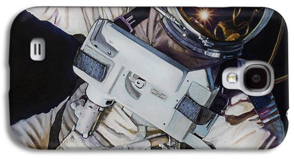 Moon Galaxy S4 Cases - Gemini IV- Ed White Galaxy S4 Case by Simon Kregar
