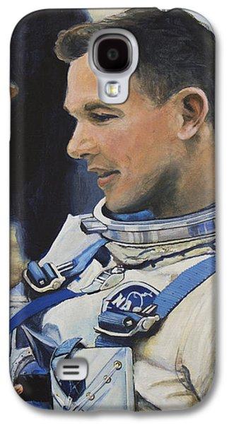Gemini Viii Dave Scott Galaxy S4 Case by Simon Kregar