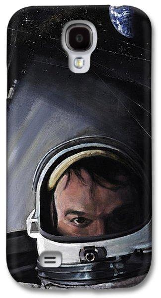 Gemini X- Michael Collins Galaxy S4 Case by Simon Kregar