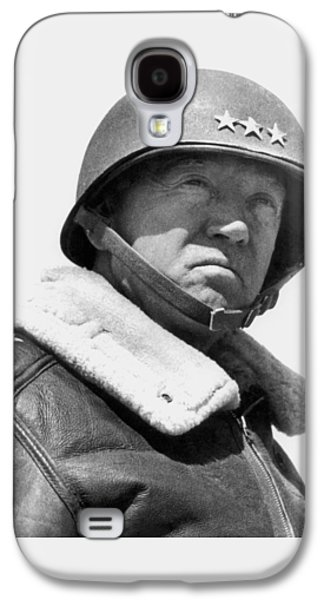 General George Patton Galaxy S4 Case by War Is Hell Store
