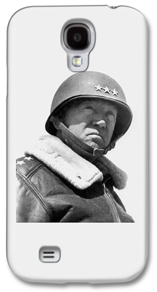 Portraits Photographs Galaxy S4 Cases - General George Patton Galaxy S4 Case by War Is Hell Store