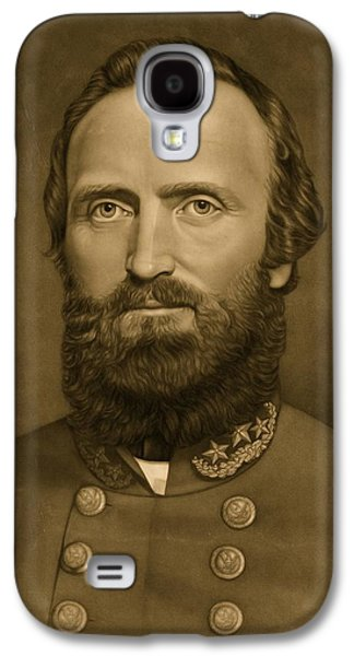Stonewall Galaxy S4 Cases - General Stonewall Jackson 1871 Galaxy S4 Case by Anonymous