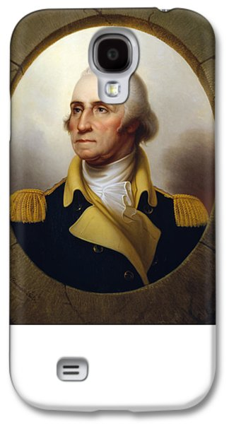 George Washington Galaxy S4 Cases - General Washington at the Battle of Princeton Galaxy S4 Case by War Is Hell Store