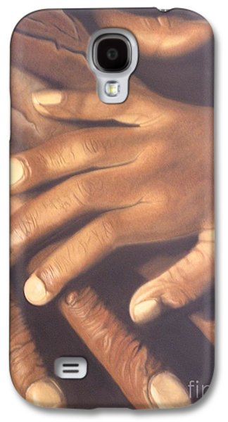 African-american Pastels Galaxy S4 Cases - Generation to Generation Galaxy S4 Case by Wil Golden
