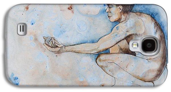 Adam Pastels Galaxy S4 Cases - Genesis Galaxy S4 Case by Judy Pfeifer