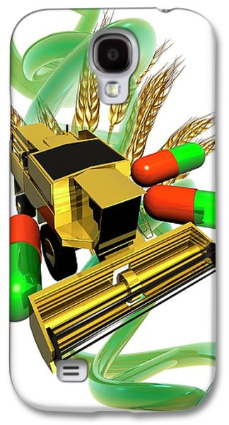 Genetically Modified Crops Galaxy S4 Case by Victor Habbick Visions