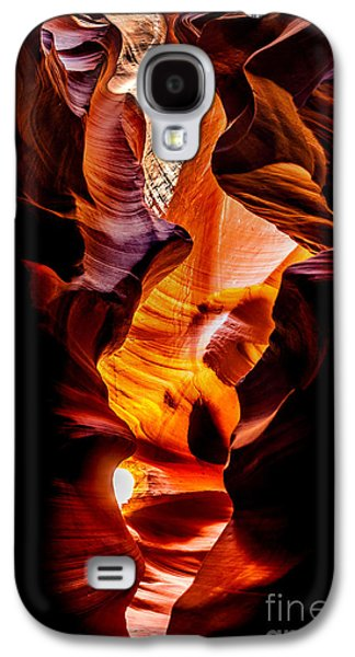 Wishes Galaxy S4 Cases - Genie In A Bottle Galaxy S4 Case by Az Jackson
