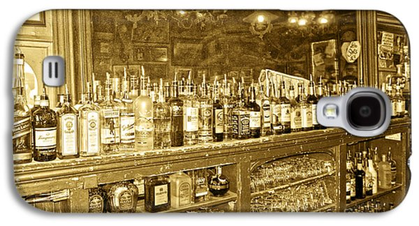 Mining Photos Galaxy S4 Cases - Genoa Bar Oldest Saloon in Nevadas Old West History Galaxy S4 Case by Artist and Photographer Laura Wrede