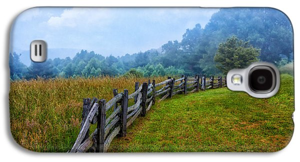 Best Sellers -  - Original Photographs Galaxy S4 Cases - Gentle Morning - Blue Ridge Parkway I Galaxy S4 Case by Dan Carmichael
