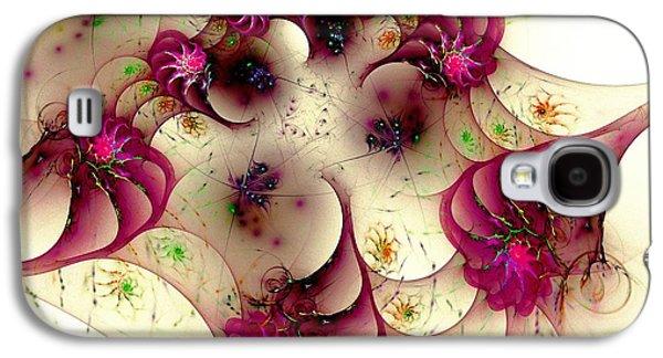 Gentle Pink Galaxy S4 Case by Anastasiya Malakhova