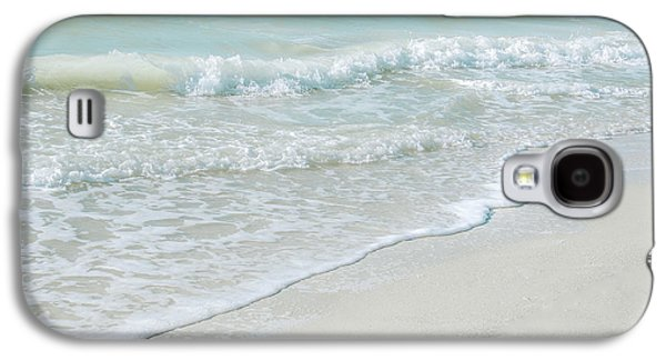 Salt Air Galaxy S4 Cases - Gentle Waves Galaxy S4 Case by Julie Palencia