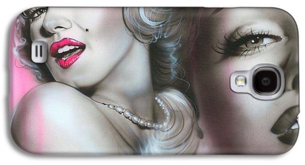 'gentlemen Prefer Blondes' Galaxy S4 Case by Christian Chapman Art