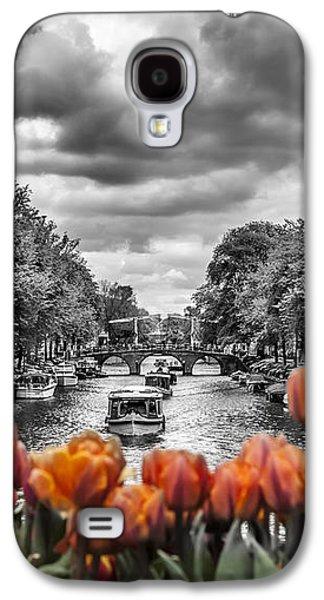 Gentlemen's Canal  Amsterdam Galaxy S4 Case by Melanie Viola