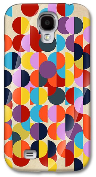 Surreal Geometric Galaxy S4 Cases - Geo Geo  Galaxy S4 Case by Mark Ashkenazi