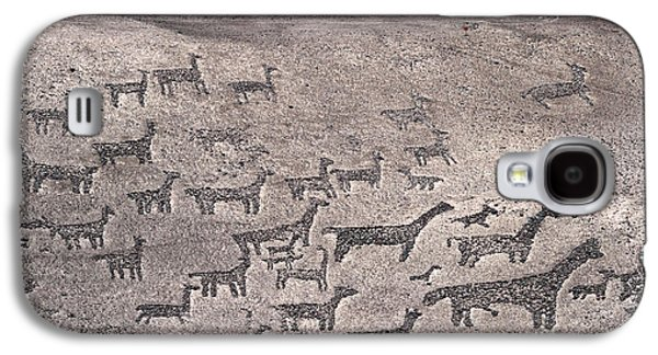 Geoglyphs At Tiliviche Chile Galaxy S4 Case by James Brunker