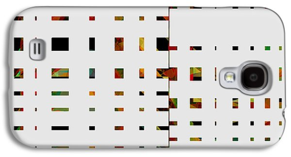 Avant Garde Mixed Media Galaxy S4 Cases - Geometrics -abstract -  art Galaxy S4 Case by Ann Powell
