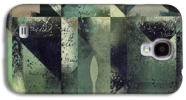 Modern Abstract Galaxy S4 Cases - Geomix 04 - 56at22b2e Galaxy S4 Case by Variance Collections