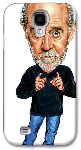 George Carlin Galaxy S4 Case by Art