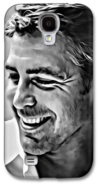 George Clooney Portrait Galaxy S4 Case by Florian Rodarte