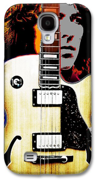 Beatles Galaxy S4 Cases - George Harrison Galaxy S4 Case by Larry Butterworth