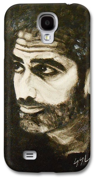 Clooney Galaxy S4 Cases - George Galaxy S4 Case by Jane See