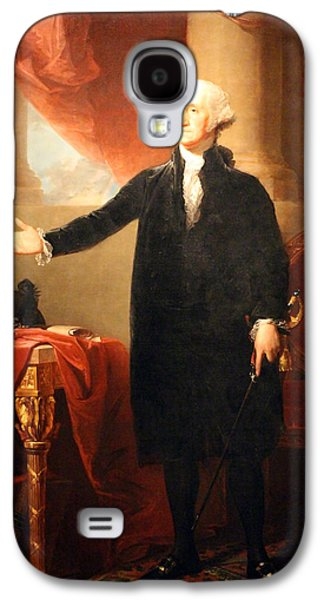 Dolley Galaxy S4 Cases - George Washington The Lansdowne Portrait Galaxy S4 Case by Cora Wandel