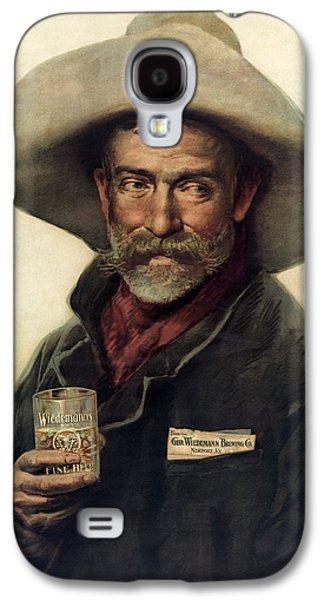George Wiedemann's Brewing Company C. 1900 Galaxy S4 Case by Daniel Hagerman