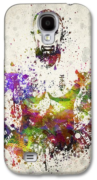 Athlete Digital Galaxy S4 Cases - Georges St-Pierre Galaxy S4 Case by Aged Pixel