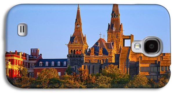 Georgetown University Galaxy S4 Case by Mitch Cat