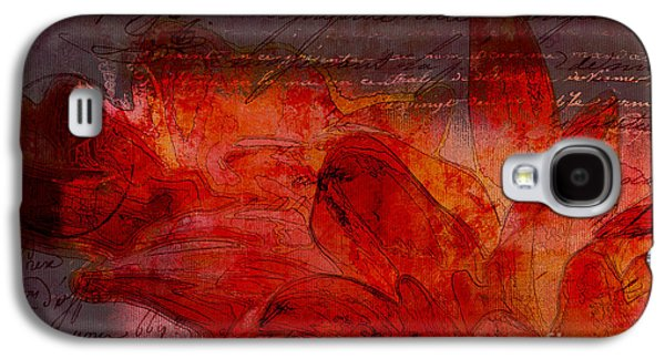 Abstract Realism Digital Art Galaxy S4 Cases - Gerberie - 77at2 Galaxy S4 Case by Variance Collections
