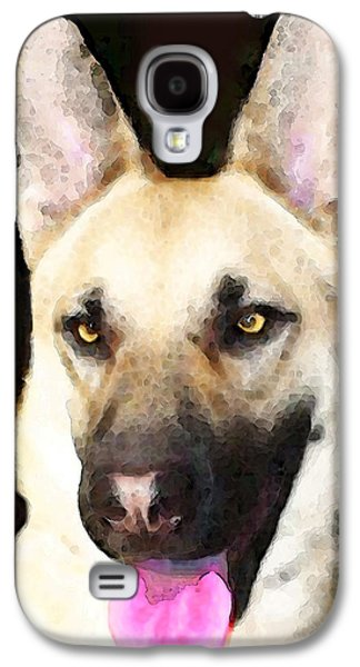 German Shepherd Galaxy S4 Cases - German Shepherd - Lover Galaxy S4 Case by Sharon Cummings