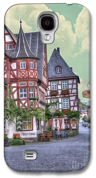 Frame House Galaxy S4 Cases - German Village along Rhine River Galaxy S4 Case by Juli Scalzi