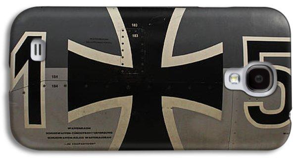 Machinery Galaxy S4 Cases - German war plane Galaxy S4 Case by Joseph Semary