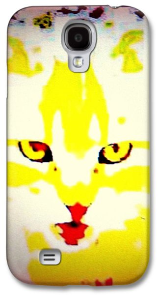 Temperament Galaxy S4 Cases - Get Fish Now Galaxy S4 Case by Hilde Widerberg