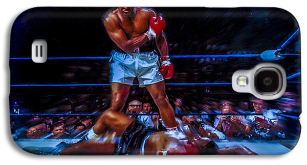Olympic Gold Medalist Galaxy S4 Cases - Get up and Fight Sucker Galaxy S4 Case by Brian Reaves