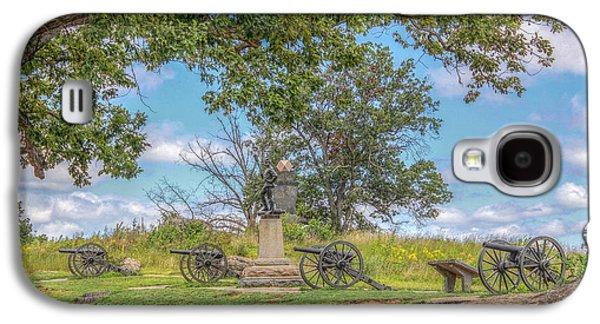 Devils Den Galaxy S4 Cases - Gettysburg Battlefield 4th New York  Galaxy S4 Case by Randy Steele