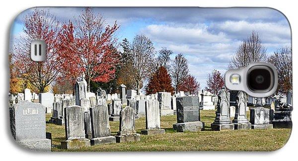 Civil War Site Galaxy S4 Cases - Gettysburg National Cemetery Galaxy S4 Case by Brendan Reals