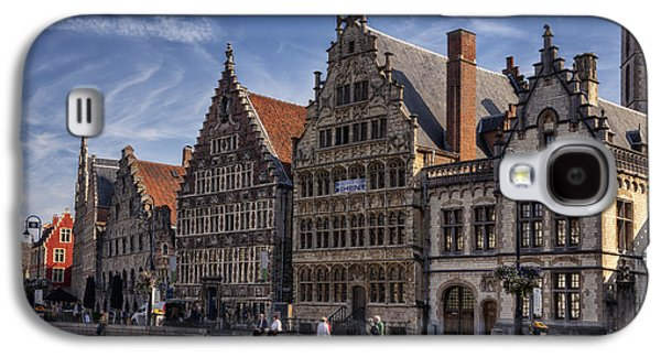 Ghent Guild Houses Galaxy S4 Case by Joan Carroll