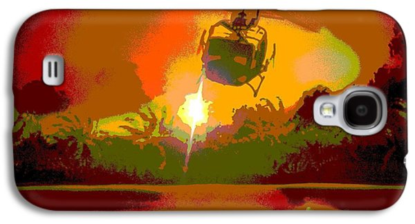 Francis Ford Coppola Galaxy S4 Cases - Ghost Huey Apocalypse  Galaxy S4 Case by William Gruendler