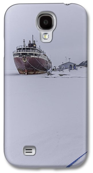 Gordon Photographs Galaxy S4 Cases - Ghost Ship Galaxy S4 Case by Everet Regal
