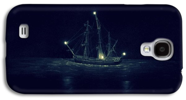 Creepy Galaxy S4 Cases - Ghost Ship Galaxy S4 Case by Laurie Perry