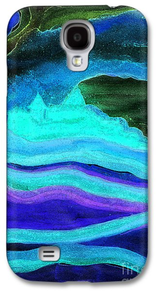 Archetype Paintings Galaxy S4 Cases - Ghostly Castle by jrr Galaxy S4 Case by First Star Art